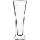 DUOS/54CL Γυάλινο ποτήρι μπύρας 0.5L, διπλών τοιχωμάτων 54cl, φ9.2x23.9cm, Luigi Bormioli