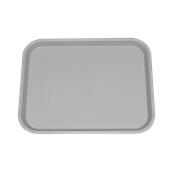 SYR-010120/GR Πλαστικός δίσκος Fast Food, 46x35cm, γκρι, Ελληνικής κατασκευής