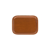 DIA-SE-001/BR Ξύλινος δίσκος σερβιρίσματος, 28x21cm, καφέ, Ελληνικής κατασκευής