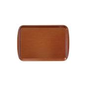 DIA-SE-002/BR Ξύλινος δίσκος σερβιρίσματος, 32x24cm, καφέ, Ελληνικής κατασκευής