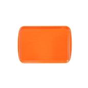 DIA-SE-002/OR Ξύλινος δίσκος σερβιρίσματος, 32x24cm, πορτοκαλί, Ελληνικής κατασκευής
