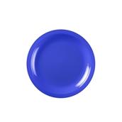 2752-34/2752N-34 Πιάτο πλαστικό γλυκού στρογγυλό PP 18cm μπλε