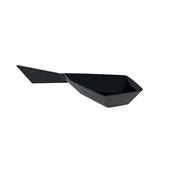 6110-19 Πλαστικό κουταλάκι Diamond-Kite PS, 15 cc, μαύρο
