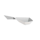 6110-11 Πλαστικό κουταλάκι Diamond-Kite PS, 15 cc, λευκό