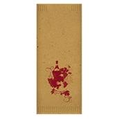 88207800 Φάκελος Kraft σχέδιο Bacchus, με χαρτοπετσέτα 38x38, FATO Ιταλίας