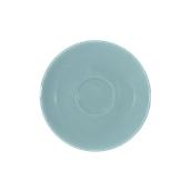 SC1-28/RB Πιατάκι πορσελάνης για φλυτζάνι 280cc, ραφ μπλε, σειρά Rio, LUKANDA