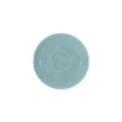 SC1-09/RB Πιατάκι πορσελάνης για φλυτζάνι 90cc, ραφ μπλε, σειρά Rio, LUKANDA