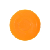SC1-38/OR Πιατάκι πορσελάνης για φλυτζάνι 380cc, πορτοκαλί, σειρά Rio, LUKANDA