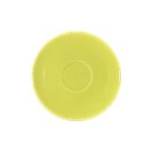 SC1-28/AGN Πιατάκι πορσελάνης για φλυτζάνι 280cc, ανοιχτό πράσινο, σειρά Rio, LUKANDA