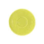 SC1-38/AGN Πιατάκι πορσελάνης για φλυτζάνι 380cc, ανοιχτό πράσινο, LUKANDA
