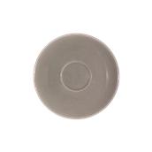SC1-28/DGR Πιατάκι πορσελάνης για φλυτζάνι 280cc, σκούρο γκρι, σειρά Rio, LUKANDA