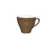 CP1-28/BR Φλυτζάνι πορσελάνης 280cc, καφέ, σειρά Rio, LUKANDA