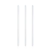 AN.11323/200T ΣΕΤ 200 τεμάχια Αναδευτήρες 19cm ύψος, διάφανοι, ελληνικής κατασκευής