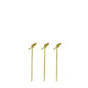209BBBCL90 Noshi Sticks 9cm από Bamboo με κόμπο στην μία άκρη