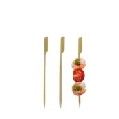 209BBTG120 Σουβλάκια-Sticks 12cm από Bamboo Σειρά «Teppo Gushi», Χωρίς ετικέτα