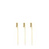 210BBRARE9 Sticks Ξύλινα 9cm με ετικέτα Ψησίματος RARE, Σειρά «Teppo Gushi»