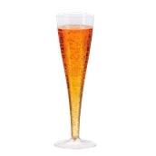 210FLUTM2 Ποτήρι σαμπάνιας 120ml, Πλαστικό, Μιας χρήσης