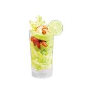 210VLONG20 Ποτήρι σωλήνας 20cl, PS πλαστικό, μιας χρήσης