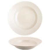 181-0005 Πιάτο ζυμαρικών 29cm, StoneWare, κρεμ