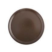 181-0003 Πιάτο πίτσας 30cm, StoneWare, σοκολατί