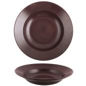 181-0007 Πιάτο ζυμαρικών 29cm, StoneWare, σοκολατί