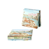 26x26x4.2 /HOTPIZZA Κουτί Πίτσας Μικροβέλε HOT-PIZZA (VENICE), 26x26x4.2cm