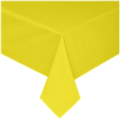 TCA145-075075-YE Τραπεζομάντηλο από αδιάβροχο, αλέκιαστο ύφασμα, 145gr/m2, 75x75cm, κίτρινο