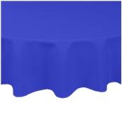 TCA145-R150-BL Τραπεζομάντηλο από αδιάβροχο, αλέκιαστο ύφασμα, 145gr/m2, φ150cm, μπλε