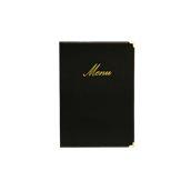 MC-CRA5-BL Κατάλογος MENU A5 CLASSIC για Εστιατόρια / cafe 18x25cm, μαύρος, SECURIT