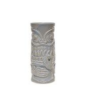 SMOKER-44/GR Κούπα Tiki 44cl, φ7.3x17cm, γκρι, Πορσελάνης, Ελληνικής κατασκευής