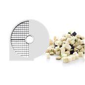 280386 Δίσκος ανοξείδωτος κοπής σε κύβους πάχους 10mm, HENDI
