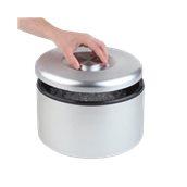 APS.5LT Δοχείο διατήρησης πάγου αλουμινίου φ18.5x20cm, 5Lt, APS