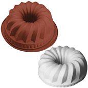 HF01132 Φόρμα τούρτας σιλικόνης, Gugelhupf, φ24x11cm, 2.20Lt, HappyFlex