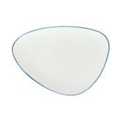 OC034343298 Πιάτο Τρίγωνο Πορσελάνης 34.5x25cm, Σειρά ORGANICA MARE, TOGNANA