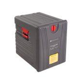 TC11/GREY(P600) Ισοθερμικό Κουτί 6xGN1/1 (6,5cm ύψους), αφαιρούμενη πόρτα, γκρι, Plast Port