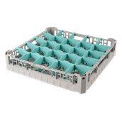 BD-25/GREY Τελάρο-Μπασκέτα Πλυντηρίου με 25 χωρίσματα 50x50x10cm, Plast Port
