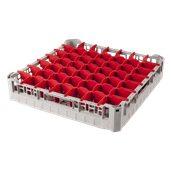 BD-49/GREY Τελάρο-Μπασκέτα Πλυντηρίου με 49 χωρίσματα 50x50x10cm, Plast Port