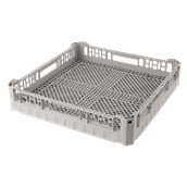 CT-01/GREY Τελάρο-Μπασκέτα Πλυντηρίου για μαχαιροπήρουνα 50x50x10cm, Plast Port
