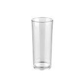 PCG17/TR Ποτήρι σωλήνας πλαστικό PC (Policarbonate), διάφανο, 320ml, Plast Port