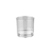 PCG20/TR Ποτήρι χαμηλό ουίσκι πλαστικό PC (Policarbonate), διάφανο, 250ml, Plast Port