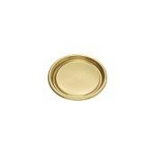 069.270.120 Δισκάκι Πάστας PET πολυτελείας Φ12cm, χρυσαφί, Erremme Ιταλίας