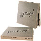 45x45x4.2 /KRAFT-HOT Κουτί Πίτσας Μικροβέλε KRAFT HOT-PIZZA, 45x45x4.2cm