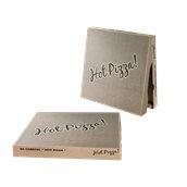 30x30x4.2 /KRAFT-HOT Κουτί Πίτσας Μικροβέλε KRAFT HOT-PIZZA, 30x30x4.2cm