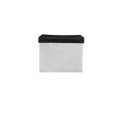 71360/BK Σπάτουλα/Χούφτα ζαχαροπλαστικής, λάμα 12x8,5cm, Μαύρη λαβή, Σειρά CREME, Pirge