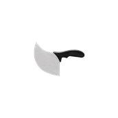 71081/BK Μαχαίρι Μπουγάτσας, λάμα 10x11cm, Μαύρη λαβή, Σειρά Pro 2001, Pirge
