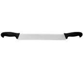 38221/BK (71221) Μαχαίρι τυριού με 2 λαβές, λάμα 4,5x35cm, Μαύρη λαβή, Σειρά Pro 2001, Pirge