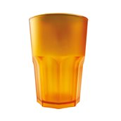 3763-20F Πλαστικό ποτήρι SAN πισίνας 42cl πορτοκαλί