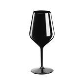 5000-19 Πλαστικό ποτήρι κολωνάτο TRITAN πισίνας 47cl μαύρο