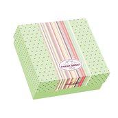 025.13.006 Κουτί ζαχαροπλαστικής μεταλιζέ FRESH No 30, 30x30x8.5cm, τιμή ανά κιλό