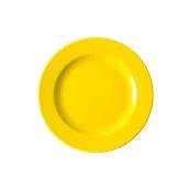 NATIVE-F26-YE Πιάτο ρηχό κεραμικό 26cm, με ενισχυμένη αντοχή στο ξεφλούδισμα, κίτρινο